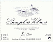 Domaine Gérard Brisson - Beaujolais-Villages - Label