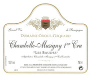 Domaine Odoul-Coquard - Chambolle-Musigny 1er Cru Les Baudes - Label